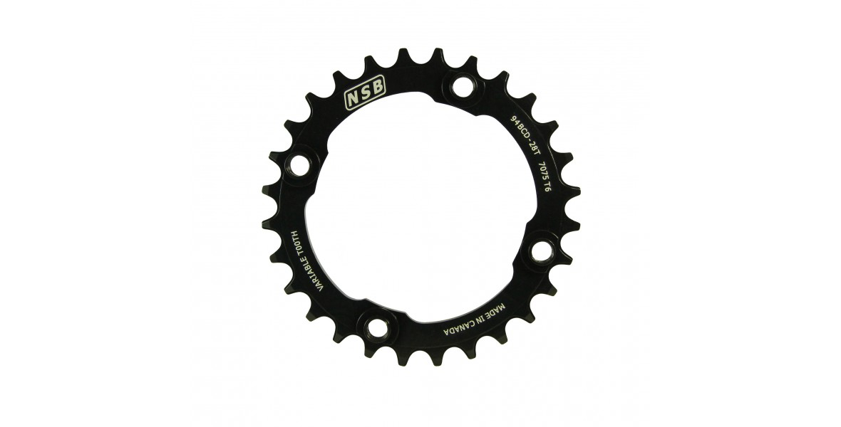North Shore Billet 94 BCD Narrow Wide Chainring for SRAM X01 and X1 Cranks
