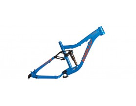 Knolly Warden Frame Blue Medium with Cane Creek DB-InLine